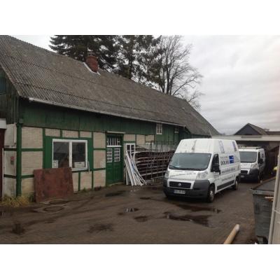 Das Firmengebäude vor der Renovierung